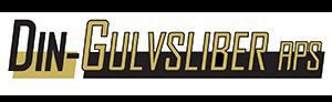 Din Gulvslibers logo med orange skrift
